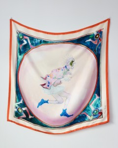 The art Scarf by Uwe Henneken,