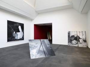 Shelter of Refuse Series in Situ at Bourouina Gallery, 2011,