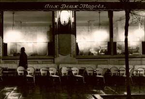 Aux deux Magots, Paris,