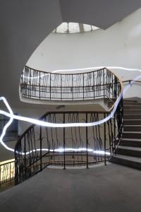 Hotel Europejski stairway,