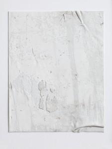 Wandhaut 1/4 (wall skinning, UdK, Berlin),