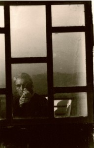 Self-portrait, Liguria,